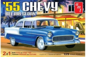 1:25 '55 CHEVY BEL AIR SEDAN 2N1