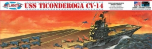 1:500 USS TICONDEROGA CARRIER CV-14